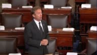 Kentucky Senator Rand Paul argues as debate on the fiscal 2018 defense authorization opened that for the first time in 15 years the Senate is...