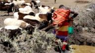 Kenya, Laikipia district, Nanyuki, Samburu tribe of Kisargei