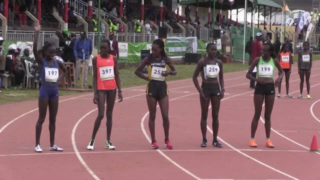 Kenyan long distant runners Vivian Cheruiyot and Betsy Saina qualify for the Rio Olympic Games at the ongoing national trials in Eldoret