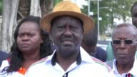 Kenyan opposition leader Raila Odinga sets conditions for taking part in a presidential vote re run in October after the landmark scrapping of last...