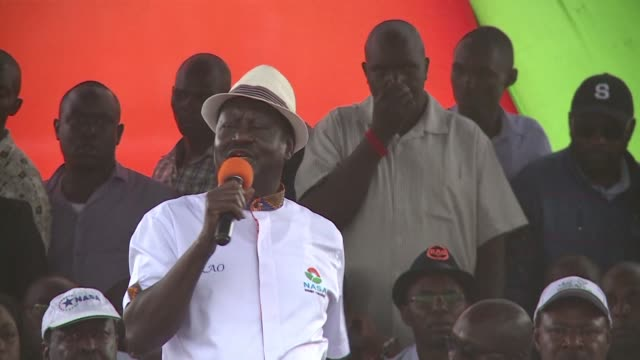 Kenyan opposition presidential contender Raila Odinga said his party would stop calling for electoral reform before October's re run of August's...