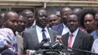 Kenya's opposition leader Raila Odinga hails as historic a court decision nullifying an election won by President Uhuru Kenyatta and calling for a re...