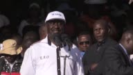 Kenya's opposition lines up behind a single candidate veteran political leader Raila Odinga strengthening their challenge to the government ahead of...