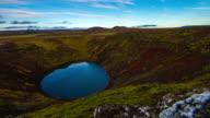 T/L Kerid volcanic crater lake