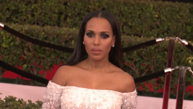Kerry Washington at 23rd Annual Screen Actors Guild Awards Arrivals in Los Angeles CA