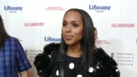 INTERVIEW Kerry Washington at Women Making History Awards Honoring Kerry Washington Instagram COO Marne Levine SpaceX President COO Gwynne Shotwell...