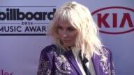 Kesha at 2016 Billboard Music Awards Arrivals at TMobile Arena on May 22 2016 in Las Vegas Nevada
