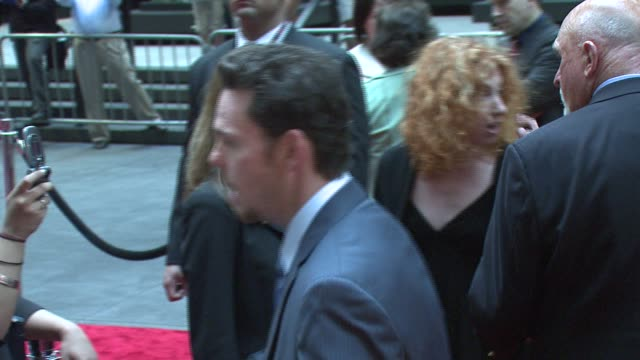 Kevin Dillon and guest at the 'Entourage' Fourth Season Premiere at Ziegfeld Theatre in New York New York on June 14 2007