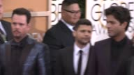 Kevin Dillon Jerry Ferrara Kevin Connolly Adrian Grenier Jeremy Piven at the 72nd Annual Golden Globe Awards Arrivals at The Beverly Hilton Hotel on...