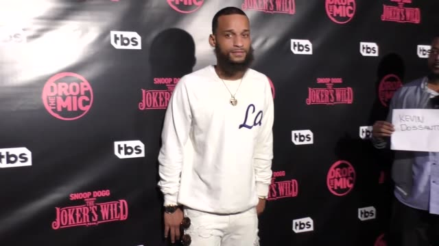 Kevin Dos Santos at TBS' Drop the Mic and The Joker's Wild Premiere Party at Dream Hotel on October 11 2017 in Hollywood California