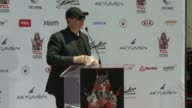 SPEECH Kevin Feige at TCL Chinese Theatre on July 18 2017 in Hollywood California