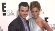 Kevin Jonas Danielle Jonas at E Upfront 2012 at Gotham Hall on April 30 2012 in New York New York