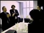 Kevin Kennon Farshid Moussavi around model building as chatting CMS Moussavi listening TCMS Model of United Architects design Farshid Moussavi...