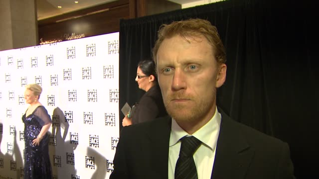 INTERVIEW Kevin McKidd on being at the event at the 63rd Annual ACE Eddie Awards at The Beverly Hilton Hotel on February 16 2013 in Beverly Hills...