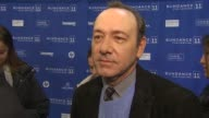 Kevin Spacey on the event at the 'Margin Call' Premiere 2011 Sundance Film Festival at Park City UT
