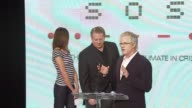 Kevin Wall Cameron Diaz and Al Gore at the Unveiling of the Global Climate Crisis Campaign and Concert at California Science Center in Los Angeles...