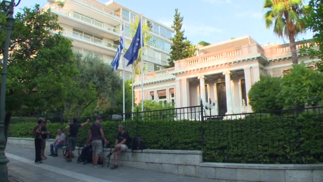 Key cabinet members are meeting Greek Prime Minister Alexis Tsipras to update him on the technical agreement on a third bailout