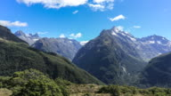 Key Summit Trail Panorama Time Lapse, New Zealand
