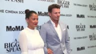 Keytt Lundqvist and Alex Lundqvis at 'A Bigger Splash' New York Screening Presented By Fox Searchlight at MoMA Titus One on April 21 2016 in New York...