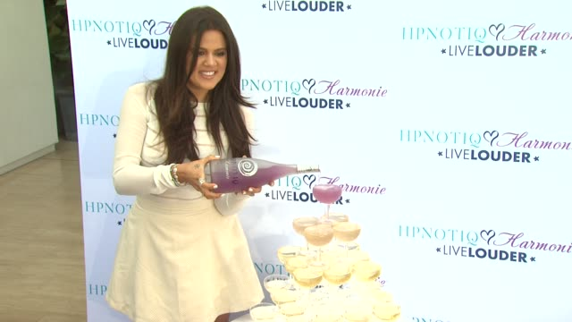 Khloe Kardashian Odom Celebrates The Launch Of Custom Cocktail Recipe For HPNOTIQ Harmonie Liqueur Beverly Hills CA United States 8/2/12