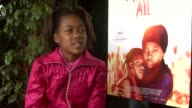 Khomotso Manyaka on how she got cast in the movie at the Life Above All Interview Cannes Film Festival 2010 at Cannes