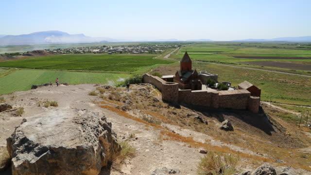 Khor Virap monastery, exterior view of the church of the Holy Mother of God, Saint Astvatsatsin