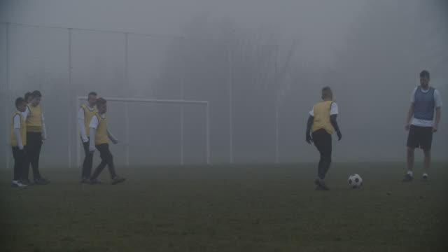4K: Kids At Soccer Training