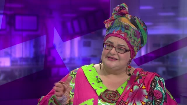 Kids Company founder Camila Batmanghelidjh steps down ENGLAND London GIR INT Camila Batmanghelidjh STUDIO interview SOT