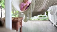 kids in hammock