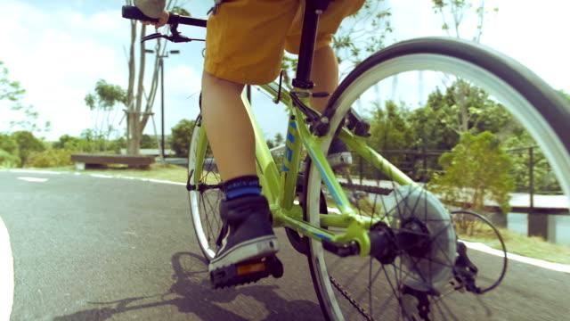 kids Riding Bicycles