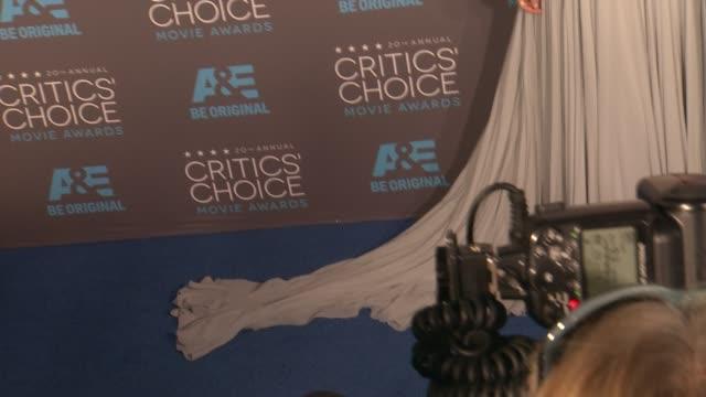 Kiera Knightly at the 20th Annual Critics' Choice Awards at Hollywood Palladium on January 15 2015 in Los Angeles California