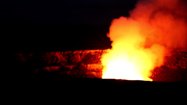 Kilauea Fumarole at night