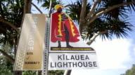 Kilauea Point Light House Sign
