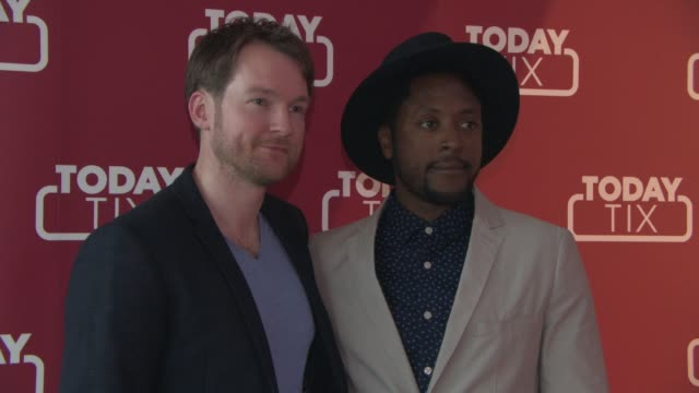 Killian Donnelly Matt Henry at TodayTix launch party at The Serpentine Sackler Gallery on June 04 2015 in London England