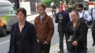 Accused cyclist gives evidence T15081735 / TX Old Bailey Charlie Alliston arriving at court