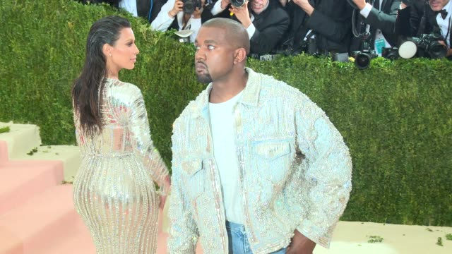 Kim Kardashian Kanye West at Manus x Machina Fashion in an Age of Technology Costume Institute Benefit Gala Arrivals at Metropolitan Museum of Art at...