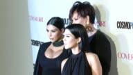 Kim Kardashian Kourtney Kardashian Kris Jenner at Cosmopolitan Magazine's 50th Birthday Celebration in Los Angeles CA