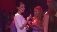 Kim Kardashian Tila Tequila at the Maxim Hot 100 2009 at Santa Monica CA