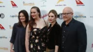 Kim Ledger Kate Ledger Ashleigh Bell and Sally Bell at the 9th Annual Heath Ledger Scholarship Dinner at Sunset Marquis Hotel on June 1 2017 in West...