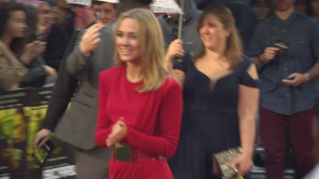 kimberley garner at 'Sicario' UK Film Premiere at Empire Leicester Square on September 21 2015 in London England