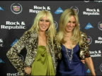 Kimberly and Alana Stewart at the Rock and Republic '05 Fall Fashion Show Presented By Cadillac at Sony Studios in Culver City California on March 18...