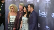 Kimberly Schlapman Philip Sweet Karen Fairchild and Jimi Westbrook at the 49th Annual Academy of Country Music Awards Arrivals at MGM Grand Garden...