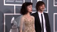 Kimbra and Gotye at The 55th Annual GRAMMY Awards Arrivals in Los Angeles CA on 2/10/13