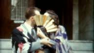 Kimono Kiss 1940's