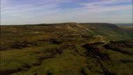 Kinder Scout-Luftaufnahme-England, UK, hohe Peak District, Vereinigtes Königreich