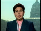 Washington Int Hanan Ashrawi interview SOT He's source of stability/ they have lost someone special constant/ difficult to get adjusted to new...