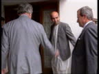 King Zahir plot ITN LIB Sir Geoffrey Howe visit