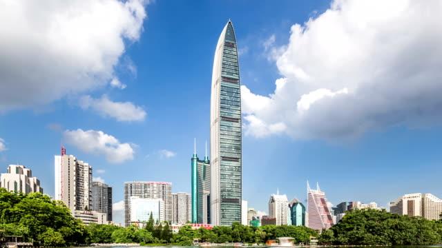 T/L WS LA ZO Kingkey 100 and Shenzhen Skyline / Shenzhen, China