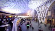 Kings Cross train station, London