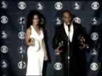Best Gospel Song Best Contemporary RandB Gospel Album at the 2007 Grammy Awards press room at Staples Center in Los Angeles California on February 11...